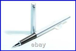 1980ies MONTBLANC QUICKPEN Rollerball Pen in stainless Steel / Germany