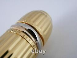 Cartier Pasha Black Lacquer and Gold Plated Rollerball Pen FREE SHIPPING