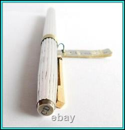 Genuine CHRISTIAN DIOR 925 Sterling Silver & Gold Plated ROLLERBALL N. O. S