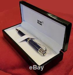 JULES VERNE Montblanc Ballpoint Pen With Serial Number Used LTD Edition