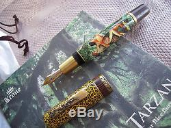 KRONE VERY LIMITED EDITION TARZAN EDGAR R. BURROUGHS FOUNTAIN PEN NIBM