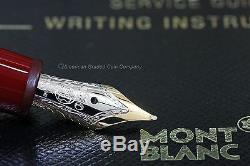 MONTBLANC 145R Chopin Fountain Pen 14k gold (M) NEW NEVER INKED IN Box WithCD