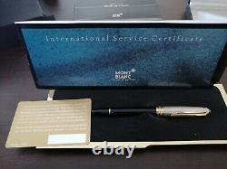 MONTBLANC 146 SOLITAIRE Doue 925 STERLING SILVER ROLLER BALL PEN