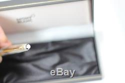 MONTBLANC 163 163SP Solitaire Pinstripe Sterling Silver Rollerball Pen Minty