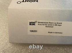 MONTBLANC AROUND THE WORLD IN 80 DAYS LeGRAND ROLLERBALL #126201 NEW IN BOX