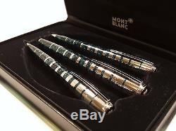 MONTBLANC Bernard Shaw LIMITED EDITION Fountain, Ballpoint & Pencil Set withBOX