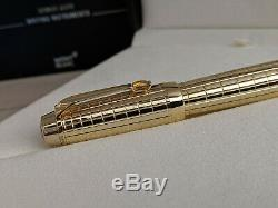 MONTBLANC Boheme Gold Plated Citrin Rollerball Pen, NOS