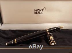 MONTBLANC Boheme Rouge Red Ruby Black Precious Resin Rollerball Pen, NEAR MINT