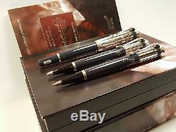MONTBLANC Charles Dickens LIMITED EDITION Fountain, Ballpoint & Pencil Set withBOX