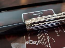 MONTBLANC Charles Dickens Writers Limited Edition 18K Nib Fountain Pen, NOS