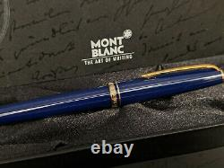 MONTBLANC Generation Navy Blue Resin with Gold Trim Rollerball Pen