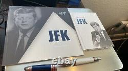 MONTBLANC Great Characters JFK Kennedy 2014 Rollerball Pen Limited Ed # 841/1917