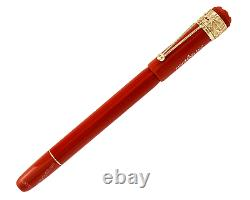 MONTBLANC Heritage R&N Spider Metham Special Edition Coral Rollerball Pen 118233