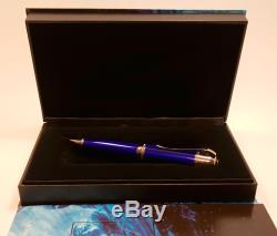 MONTBLANC Jules Verne Writers LIMITED EDITION Ballpoint Pen in BOX, MINT