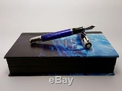 MONTBLANC Jules Verne Writers LIMITED EDITION Fountain Pen, NEVER INKED