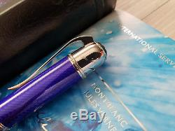 MONTBLANC Jules Verne Writers Limited Edition Ballpoint Pen, NOS