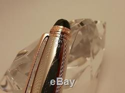 MONTBLANC LeGrand 162 75th Anniversary Sterling 925 & Rose Gold Rollerball Pen