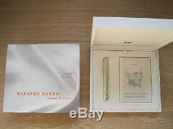 Montblanc Mahatma Gandhi Great Characters Limited Edition Rollerball