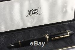 Montblanc Meisterstuck 149 Fountain Pen Nib F With Box
