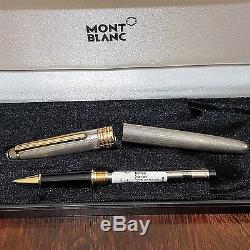 Montblanc Meisterstuck Solitaire Sterling Silver 925, Barley Rollerball Pen