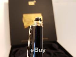 MONTBLANC Meisterstuck 75th Anniversary Edition with Diamond No 145 Fountain Pen