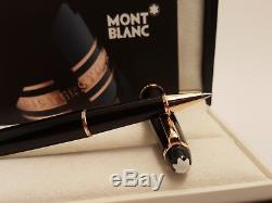 MONTBLANC Meisterstuck 90th Anniversary Red / Rose Gold 163 Rollerball Pen, NOS