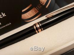 MONTBLANC Meisterstuck 90th Anniversary Red / Rose Gold 164 Ballpoint Pen, NOS