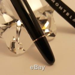 MONTBLANC Meisterstuck Black and Gold Large LeGrand 162 Rollerball Pen