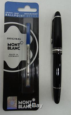 MONTBLANC Meisterstuck Black and Silver Pen AA677
