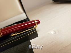 MONTBLANC Meisterstuck Classic Burgundy Red 163R Rollerball Pen, MINT