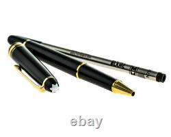 MONTBLANC Meisterstuck Gold 12890 Rollerball Pen New in box Black Friday Sale