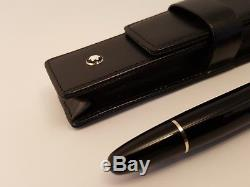 MONTBLANC Meisterstuck LeGrand 162 Rollerball Pen with Leather Case, NEAR MINT