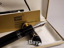 MONTBLANC Meisterstuck No 149 Jumbo Founain Pen with 14K Nib, EXCELLENT