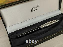 MONTBLANC Meisterstuck Solitaire Doue Stainless Steel 163 Rollerball Pen, READ
