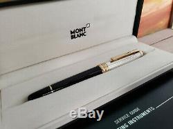 MONTBLANC Meisterstuck Solitaire Doue Sterling Silver 163 Rollerball Pen