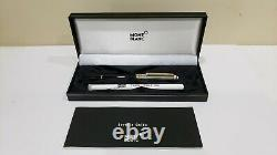 MONTBLANC Meisterstuck Solitaire Doue Sterling Silver Cap Rollerball Pen, NOS