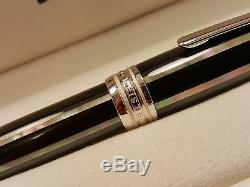 MONTBLANC Meisterstuck Solitaire Large LeGrand 162 Moon Pearl Rollerball Pen