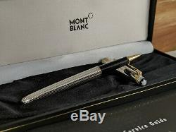MONTBLANC Meisterstuck Solitaire Sterling Silver 925 163 Rollerball Pen