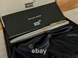 MONTBLANC Meisterstuck Solitaire Sterling Silver 925 Le Grand 162 Rollerball Pen