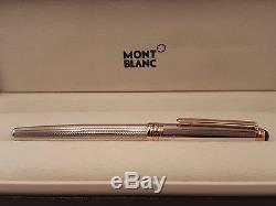 MONTBLANC Meisterstück Sterling 75th Anniversary Limited Edition Rollerball Pen