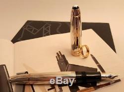 MONTBLANC Meisterstuck Sterling Silver Wedding Special Edition 146 Fountain Pen