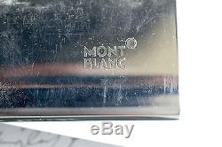 Montblanc Rollerball Pen Classique 163 Black Resin Gold Accents In Vintage Box
