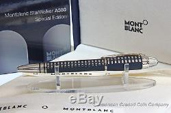 MONTBLANC STARWALKER Special A380 Fineliner/RollerBall NEW IN Boxes