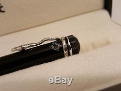 MONTBLANC Writers Agatha Christie Limited Edition Ruby Eyes Snake Ballpoint Pen