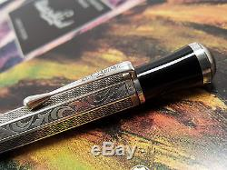 MONTBLANC Writers Limited Edition MARCEL PROUST Sterling Silver Ballpoint Pen