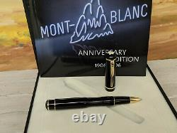 MONTBLANC100 Year Limited Anniversary Edition Rollerball Pen, NEAR MINT