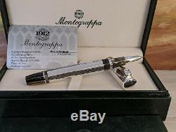 MONTEGRAPPA Sterling Silver Eleganza Large Size Rollerball Pen, NOS