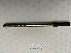 Mont Blanc Boheme Gold Top Rollerball black resin stone Pen with New Refill