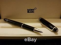 Mont Blanc Pen Meisterstuck Rollerball Black/silver New Boxed