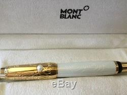 MontBlanc Boheme Lacquer With Akoya Pearl RollerBall Pen Exquisite-New & Rare